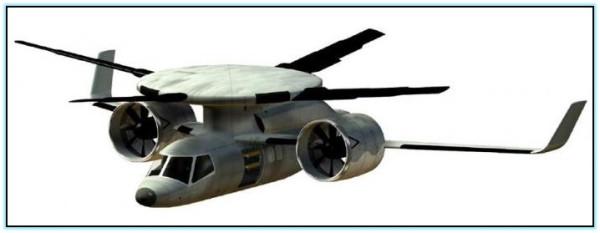 Проект конвертоплана Boeing - DARPA Disc Rotor (США)