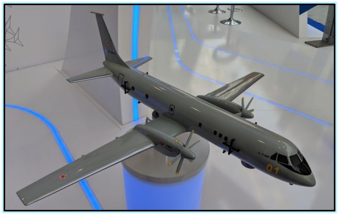 Проект базового патрульного самолёта Ил-114МП (Россия). 3