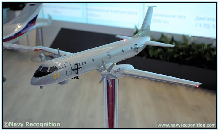 Проект базового патрульного самолёта Ил-114МП (Россия). 5