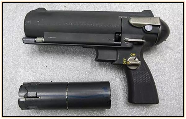 Подводный пистолет Mk.1 Mod.0 Underwater Defense Gun (США. 1969 - 1970 год).