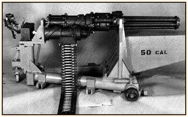 Опытный авиационный пулемёт «General Electric» GAU-6 (США. 1968 - 1970 год).