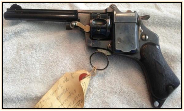 Револьвер системы А. Garcia Reynoso (Бельгия. 1895 год).