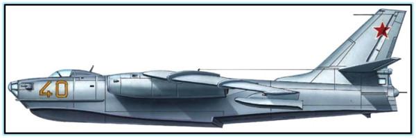 Гидросамолёт Бе-10 (СССР. 1956 год).