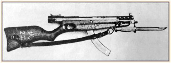 Пистолет-пулемёт Nambu Model II (Япония. 1934 / 1942 год)