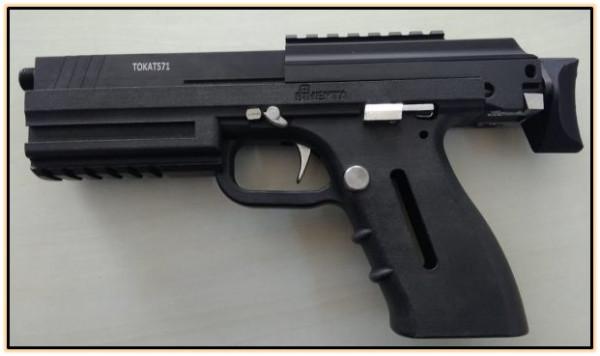 Опытный автоматический пистолет PDW-класса TOKAT 571 (Турция. 2019 год).