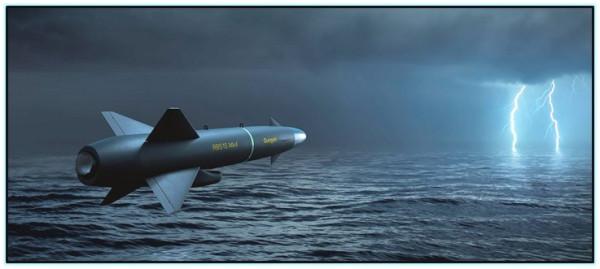 Перспективная противокорабельная ракета RBS-15 Мк.4 (Швеция / ФРГ).