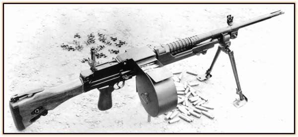 Опытный пулемёт BSA X16 (Великобритания. 1951 - 1957 год).