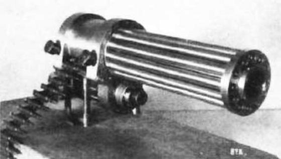Опытный пулемёт Fokker-Leimberger (Германия. 1916 год)
