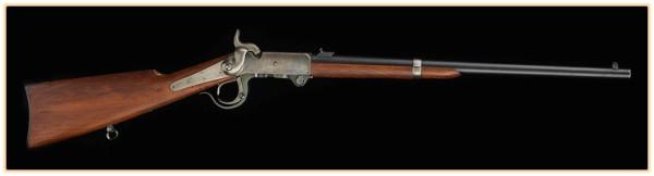 Карабин Бернсайда и его полуунитарный патрон (США. 1856 - 1858 год).