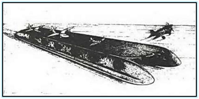Проект авианосца на ВП от Левкова