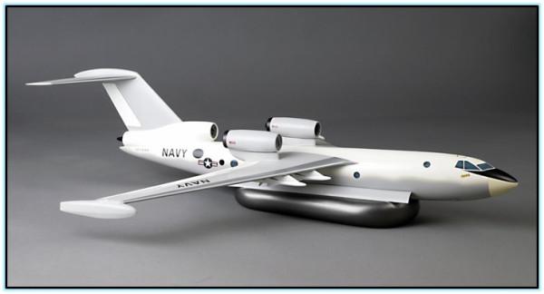 Проект противолодочного гидросамолёта Grumman / Shin Meiwa ASR-544-4 (США - Япония. 1973 год).