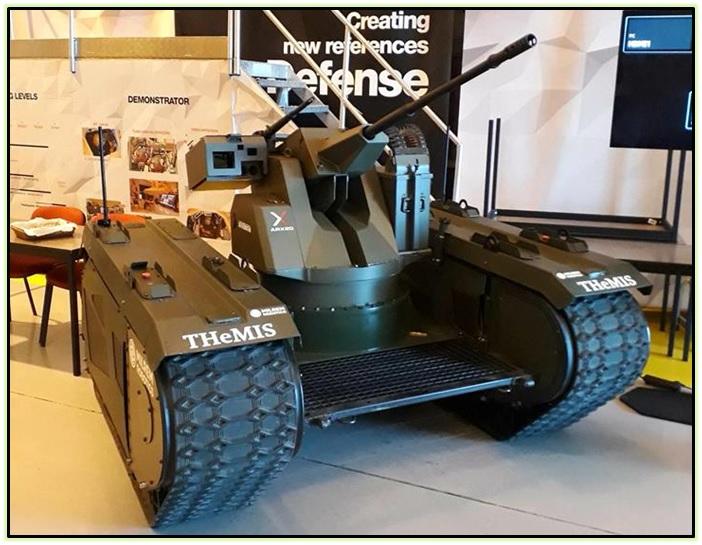Milrem Robotics THeMIS и Type-X (1)