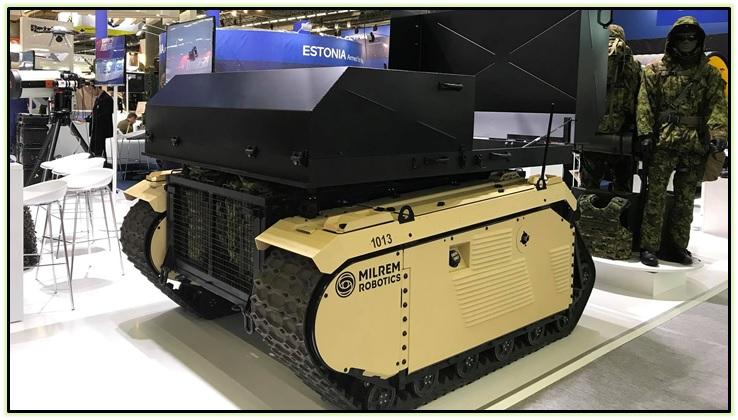 Milrem Robotics THeMIS и Type-X (3)