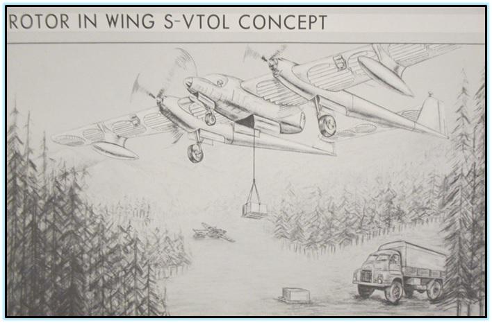 Концепты VTOL от Goodyear Аircraft (3)