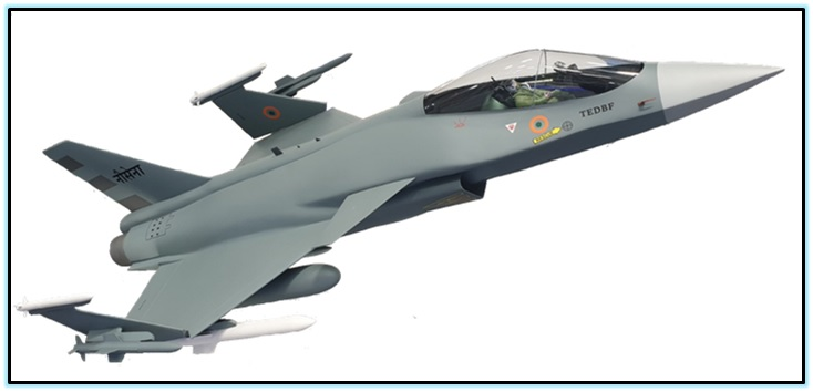 Twin Engine Deck Based Fighter (TEDBF) (2)