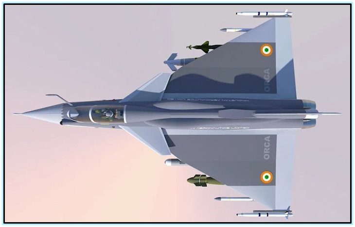 Twin Engine Deck Based Fighter (TEDBF) (3)