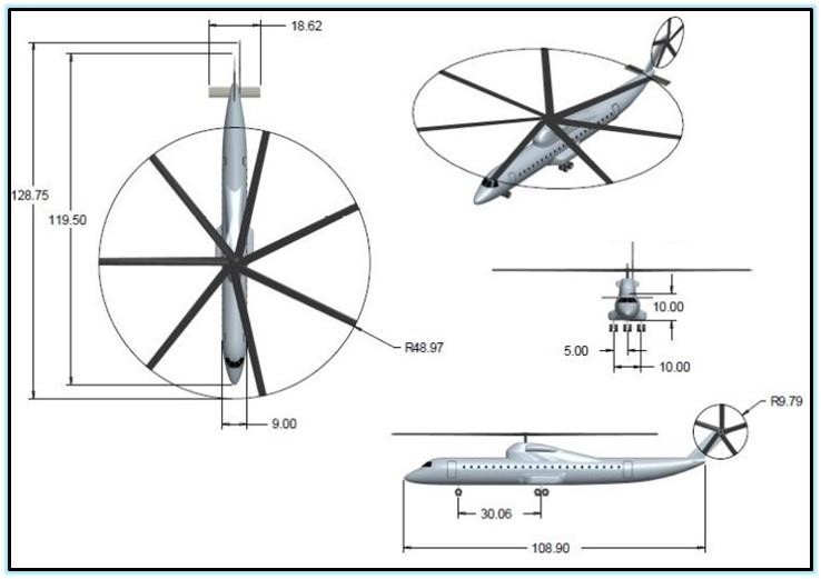 Проекты тяжёлых вертолётов от NASA (2012) 1