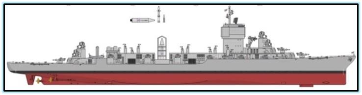 USS Kentucky ракетный линкор (1)
