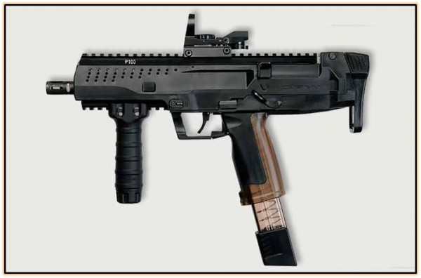 Опытный пистолет-пулемёт ST Kinetics CPW (Сингапур. 2008 год).