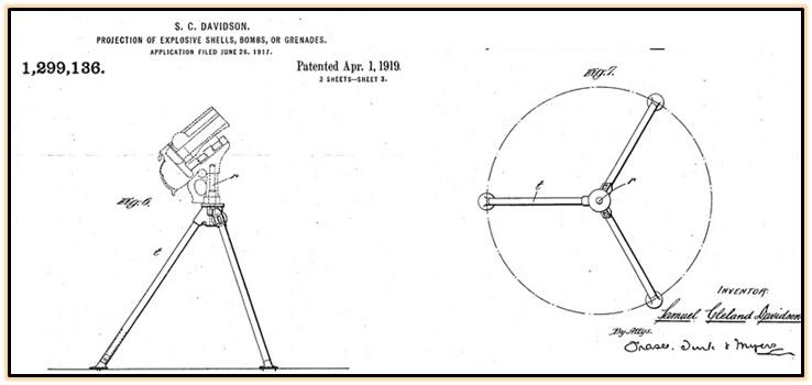 Опытный гранатомёт Дэвидсона (3)