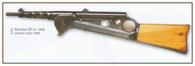 Опытный пистолет-пулемёт ZB-47 Вацлава Холека (Чехословакия, 1946—1947 год)