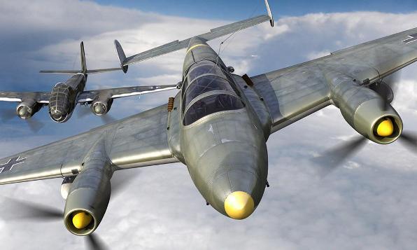 Проект тяжёлого истребителя Arado E.561 (Германия. 1937-1938 год)
