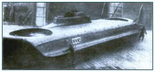 Торпедные катера на воздушной подушке конструкции В.И. Левкова (СССР. 1934-1939 год)