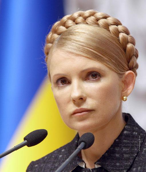 Порно с юлией темошенковой примьер министр украины
