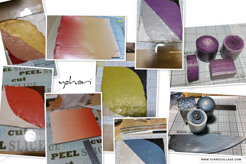 Экспериментирую, мешая разные сорта пг и цвета.