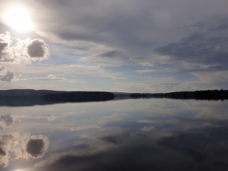 У озера, август 2021