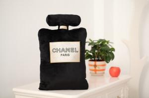 Chanel Parfum Pillow black