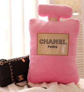 Chanel Parfum Pillow pinks