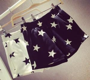 Starry Chiffon Shorts