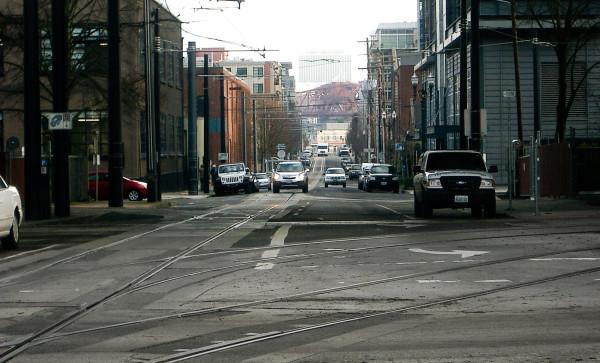 path - street scene portland