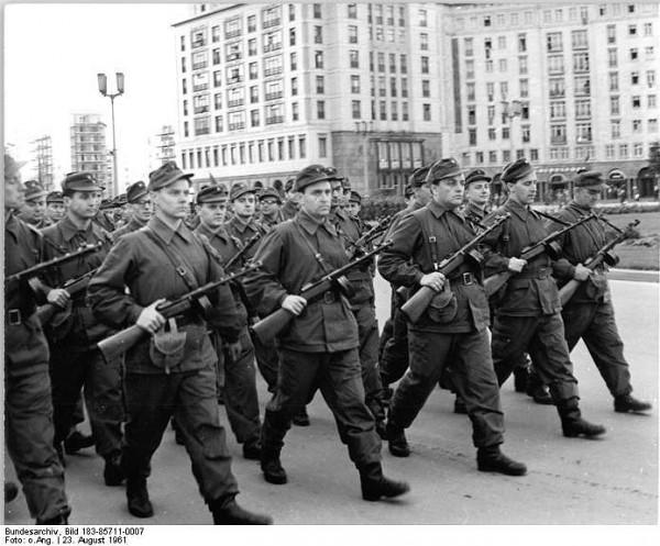 Боевые группы рабочего класса, ГДР, 1961 г.