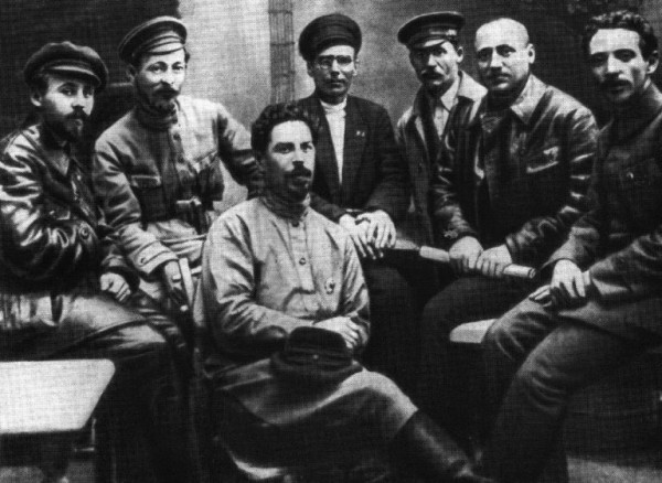 Ф. Э. Дзержинский и члены коллегии ВЧК. 1919 г