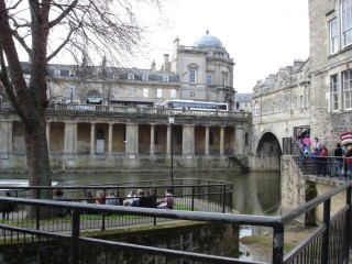 Bath, by the river Avon
