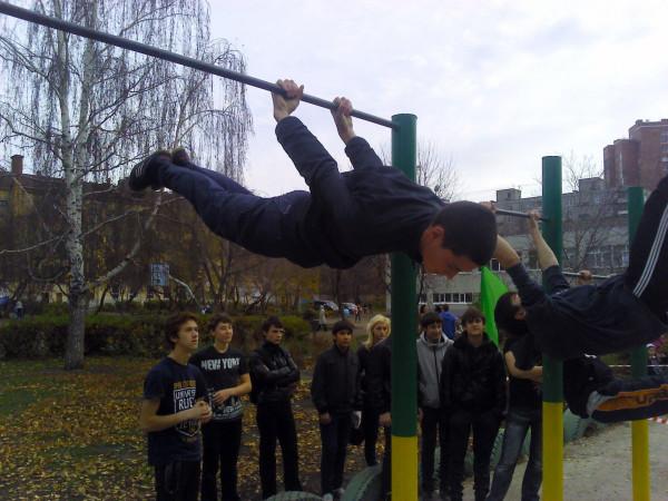 Закрытие сезона Street Workout в Уфе