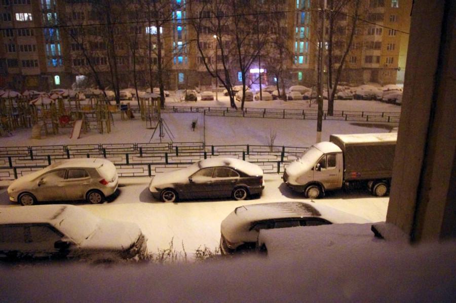 Москва. Снег. IMGP9017