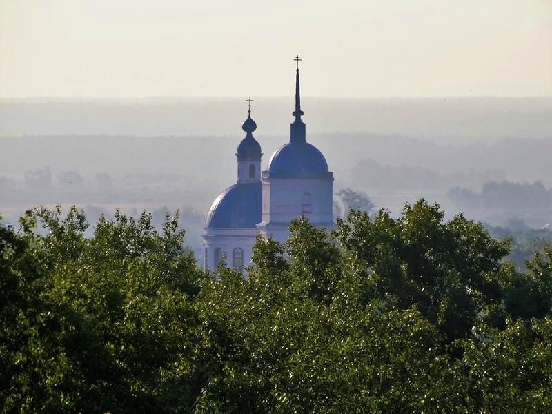 "Елабуга, вид с балкона отеля ""Алабуга-Сити"""