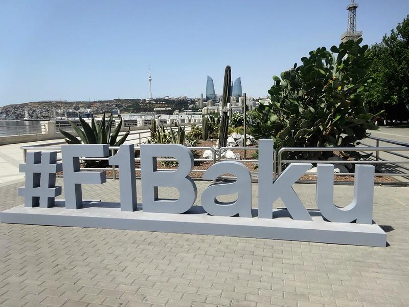Баку2016, Формула 1