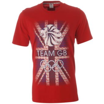 team GB red t shirt
