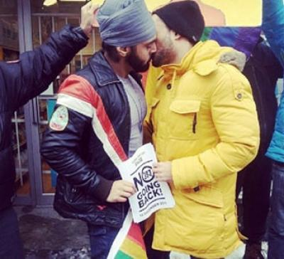 Sikh_Gay_India_Kiss_Protest_Facebook