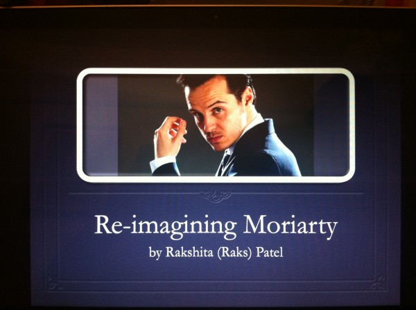 Moriarty Title Slide