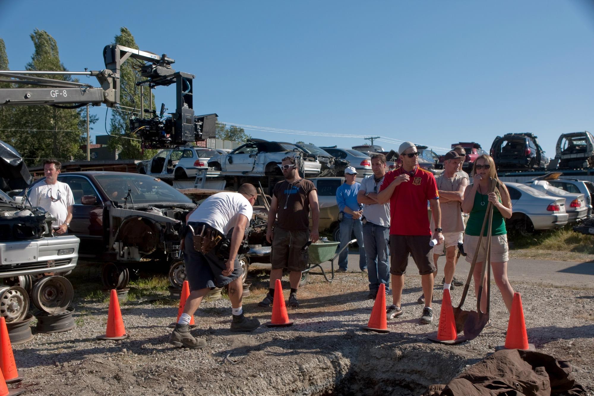 Kevin Christopher Bollaert Director jensen and the crew preparing for    Kevin Christopher Bollaert