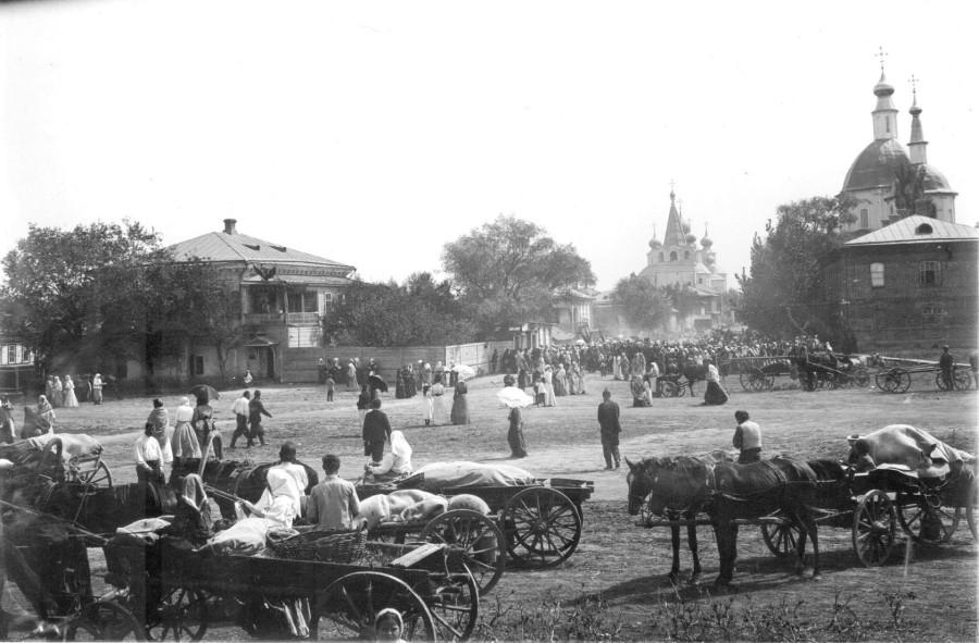 Станица Старочеркасская, Дон, начало XX века