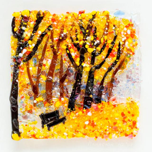 Радуемся жизни вместе золотая осень