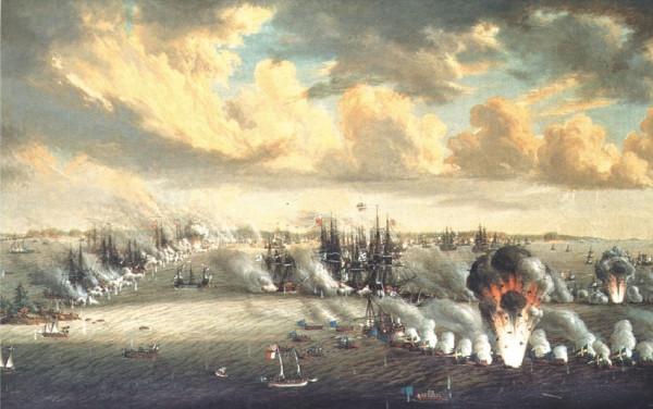 Johan_Tietrich_Schoultz_målning_Slaget_vid_Svensksund