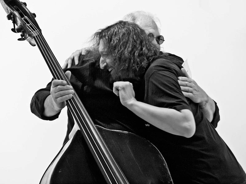 Доминик Дюваль и Роман Столяр. Фото: Пётр Ганнушкин.