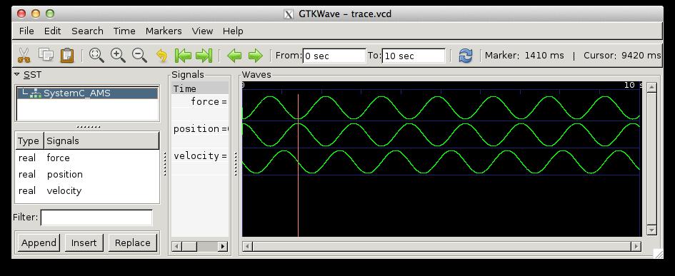 Симуляция в SystemC-AMS